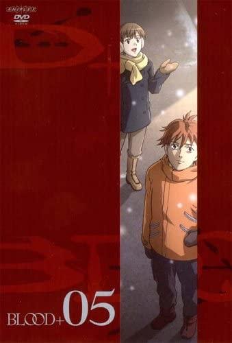 右が宮城カイ 『BLOOD+(5)』DVD、アニプレックス、2006年