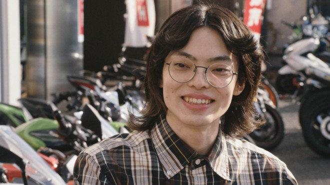 『バイク王』CM、「ミニ店長登場」篇