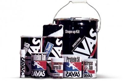 1980年の発売当初のザバスパッケージ