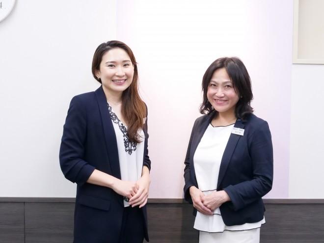 カウンセラー・赤羽友加里氏と教師・米川泉氏
