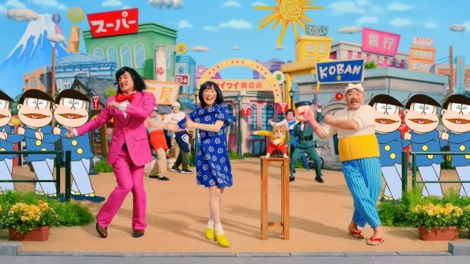 (左から)片岡愛之助、芦田愛菜、出川哲朗