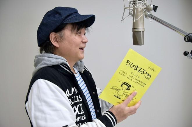『ちびまる子ちゃん』の2代目ナレーターを務める、きむらきょうや氏 (C)oricon ME inc.