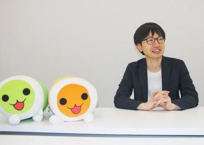 『太鼓の達人』シリーズ総合プロデューサーを務めていた中館賢氏