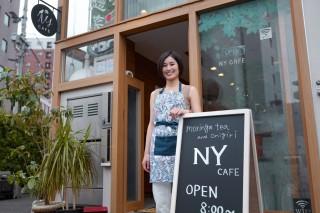 おにぎり店「NY CAFE」オーナーの米山直子さん