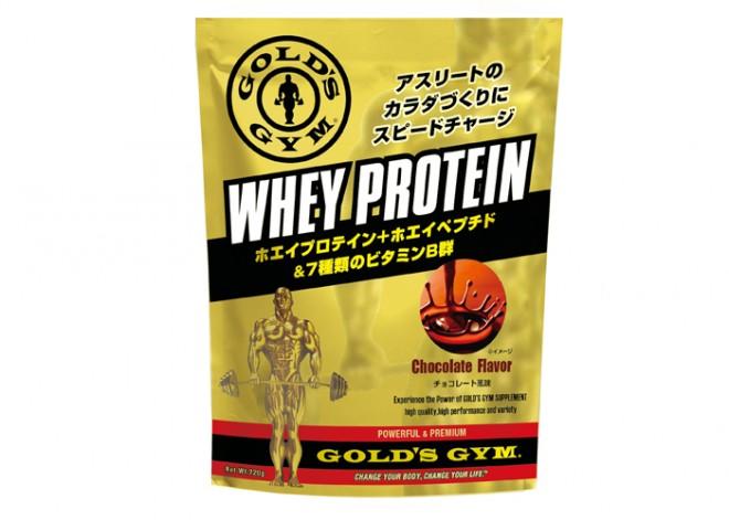 ホエイプロテイン チョコレート風味 <ゴールドジム>