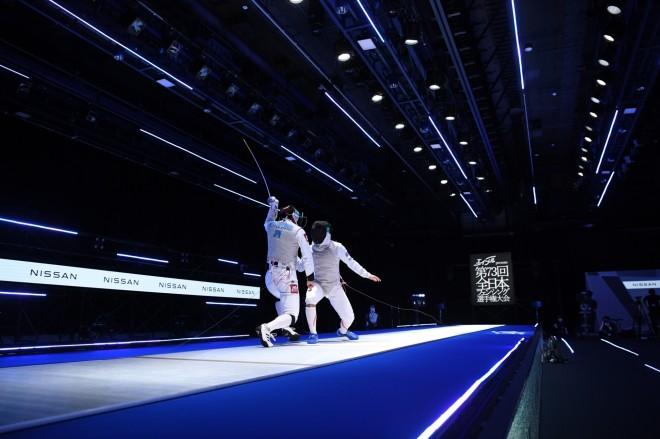 フェンシング全日本選手権大会決勝(2020年)