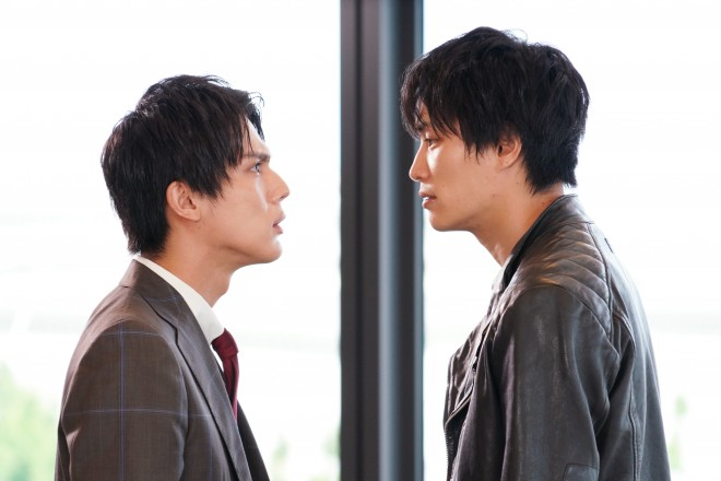 『ボクの殺意が恋をした』第5話に出演する中川大志、新木優子 (C)ytv