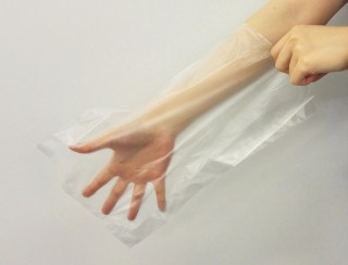 手袋として