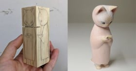 「お猫様、素敵…」木彫り猫に大反響、元教師が感動した国内外の反応の差「日本には学校の美術教育が根付いてる」