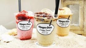 """ハーゲンダッツカフェが限定オープン、人気の「クリスピーサンド」を""""飲んで楽しむ"""""""