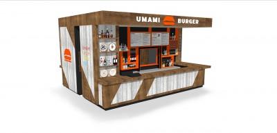 『UMAMI BURGER』の日本第3号店を3月16日(土)に錦糸町PARCOにオープンする