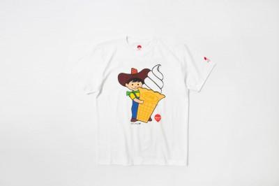 ビームスとコラボしたスジャータ坊やTシャツ