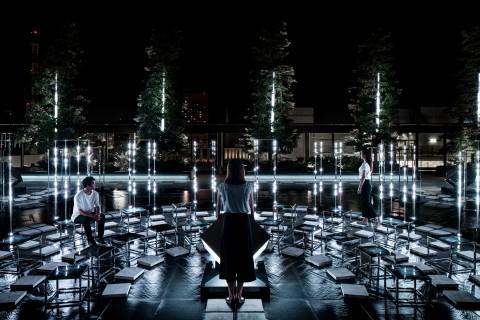 """幻想的な空間で来場者が主役に! GINZA SIX屋上に""""音を奏でる庭園""""が誕生"""