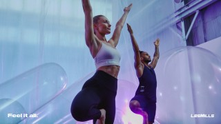ヨガをベースに太極拳やピラティスの要素も取り入れたワークアウト「BODYBALANCE」