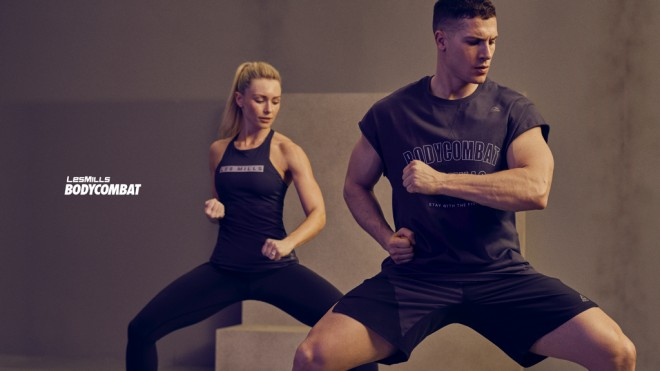 空手、ボクシング、テコンドーなど様々な格闘技の動きを取り入れた「BODYCOMBAT」