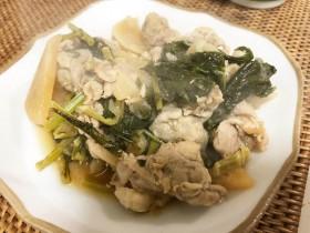 かぶの大量消費に!葉っぱも使って栄養満点かぶと豚肉の甘辛炒め