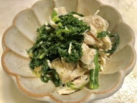 ダイエット中のご飯に最適洗い物も少ない!簡単「ささみと春菊のごま和え」