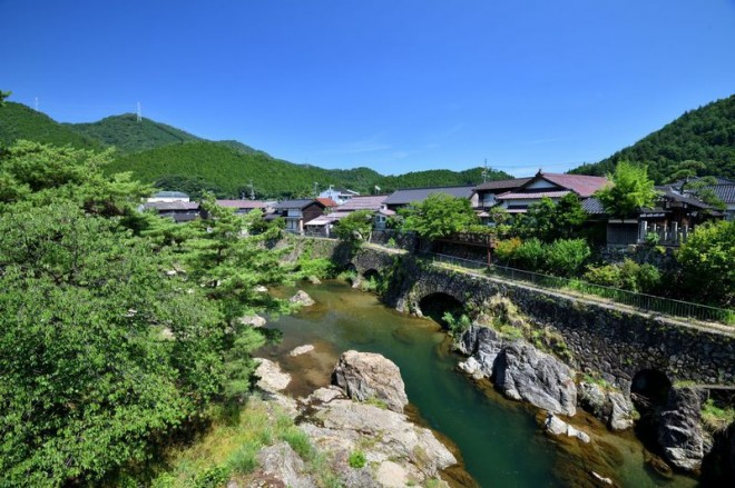 サムネイル 生野銀山の城下町「口銀谷(くちがなや)」の産業遺産
