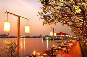 夕日の名所!バンコクお勧めリバーサイドレストラン「ザ・ビュー」