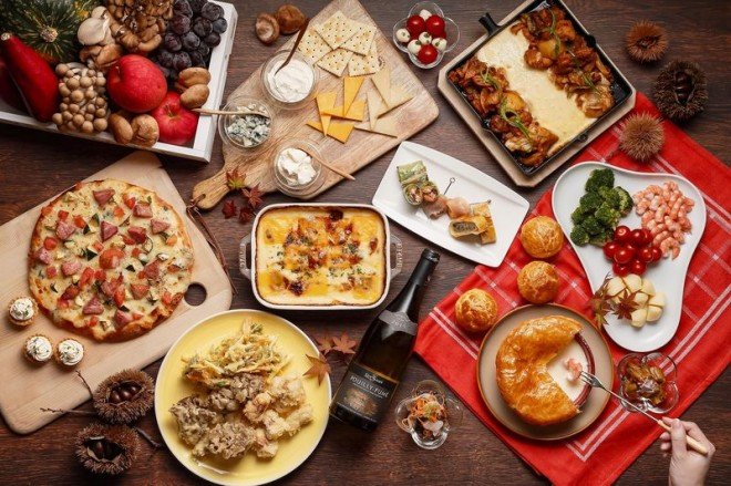 """サムネイル 大阪「ホテル ユニバーサル ポート ヴィータ」ハロウィーン2019は""""チーズ""""と味わう!"""