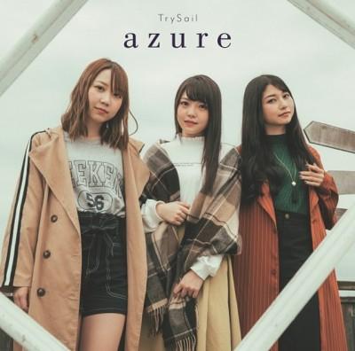TrySail、アニメ『続・終物語』エンディングテーマ「azure」本日配信開始!