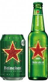 期間限定ラベルのハイネケン キリンビールが販売