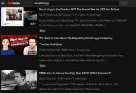 フロリダ州高校銃乱射の被害者を「やらせ」とする虚偽動画がYouTubeのトレンドに