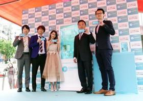 """スマホ充電器、街中の""""自販機""""でシェアサービス 48時間200円で日本上陸"""