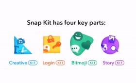 Snapchat、「Snap Kit」でサードパーティーにスタンプやアバターを提供