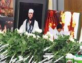 橋本真也さんの命日のこの日、会場には献花台が設置された