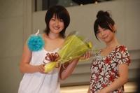 2007グランプリと2006グランプリ倉科カナ(右)