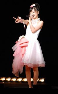 『Hello! Project 2007 Summer 10th アニバーサリー大感謝祭〜ハロ☆プロ夏祭り〜』に出演した月島きらり starring 久住小春
