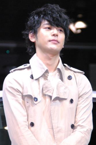 6月5日、「SUBARU New IMPREZA」発表会での妻夫木聡