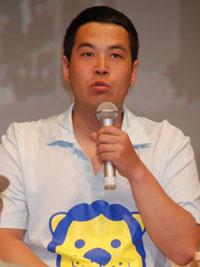 6月21日、『吉本興業短編映画プロジェクト』制作発表会見でのタカ
