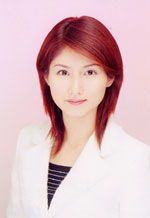 「セント・フォース アナウンサー発掘プロジェクト」出身で、現在BS−Fujiニュースキャスターの中澤麗華。
