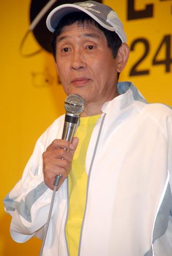 5月27日に行われた会見での萩本欽一