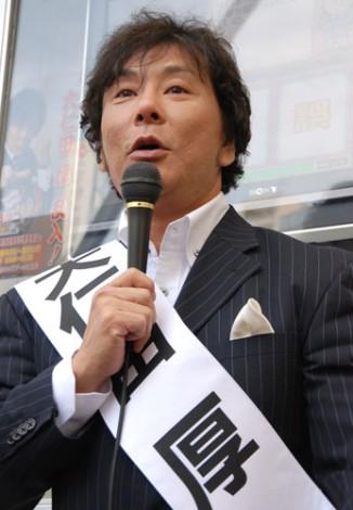 """自称""政治評論家の大仁田厚"