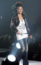 『神戸コレクション2007 AUTUMN/WINTER』にゲストモデルとして出演した酒井法子