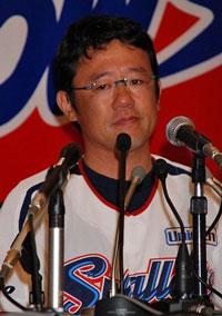 古田敦也選手兼任監督