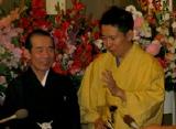 初代・林家木久扇(左)と2代目・林家木久蔵(右)