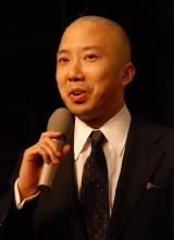 NHK大河ドラマ『風林火山』のクランクアップ後の会見に出席した市川亀治郎