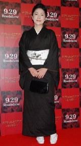 映画『エディット・ピアフ 愛の賛歌』の試写会イベントに出席した石川さゆり