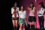 CDC賞に選ばれ、喜びいっぱいの柘植涼夏さん(10歳)。