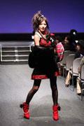 今回のオーディションでは、雑誌「Cawaii」のモデルたちによるファッションショーも行われた。