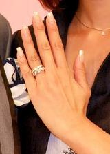 2.8カラットの婚約指輪