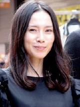 映画『自虐の詩』のイベントに参加した中谷美紀