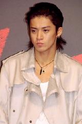 9月26日(水)、主演映画『クローズZERO』の完成会見での小栗旬