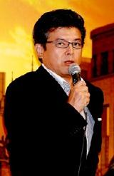 『ALWAYS 続・三丁目の夕日』の完成披露記者会見での三浦友和