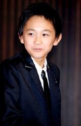 『ALWAYS 続・三丁目の夕日』の完成披露記者会見での須賀健太