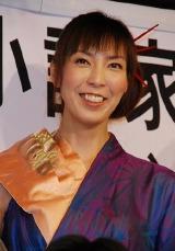 舞台『SOUJI・そうぢ!』の制作発表に出席した大林素子